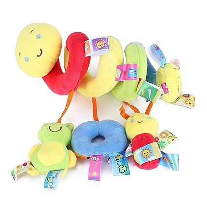 TININNA Colgar Juguetes para Bebé Infantil , Juguetes Colgantes Actividad Espiral Cama Cochecito Juguete Peluche Juguete de Kids Niños Niñas Educativo ...