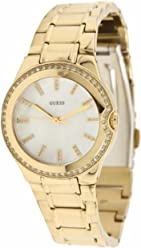 GUESS U12658L1 Feminine Sport Watch - Gold