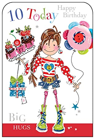 Jonny javelin girl age 10 birthday card amazon electronics jonny javelin girl age 10 birthday card bookmarktalkfo Gallery