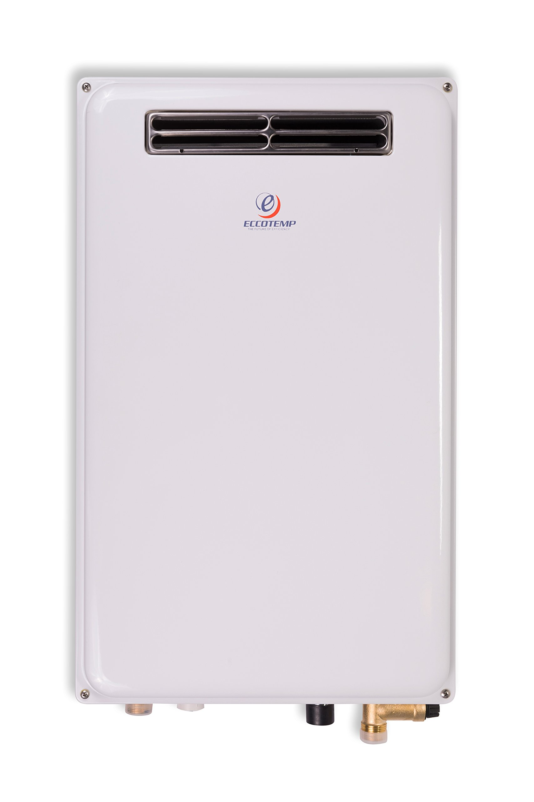 Eccotemp 45H-NG Outdoor 6.8 GPM Natural Gas Tankless Water Heater, White