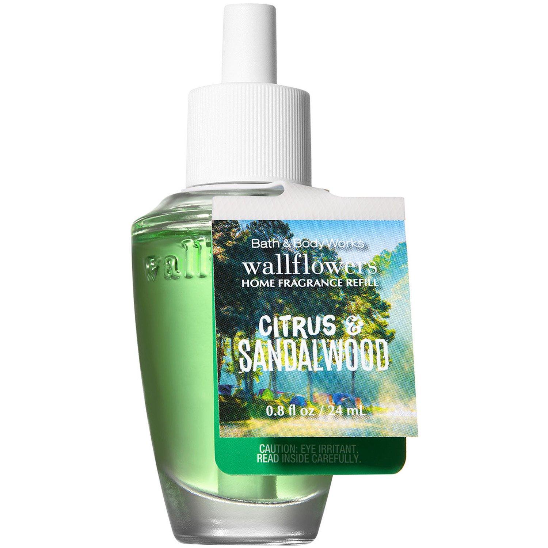 Bath and Body Works Citrus Sandalwood Wallflowers Home Fragrance Refill 0.8 Fluid Ounce