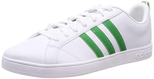 pretty nice a08cd 11414 adidas Vs Advantage Scarpe da Fitness Uomo, Bianco (Ftwbla Verde Negbás 000