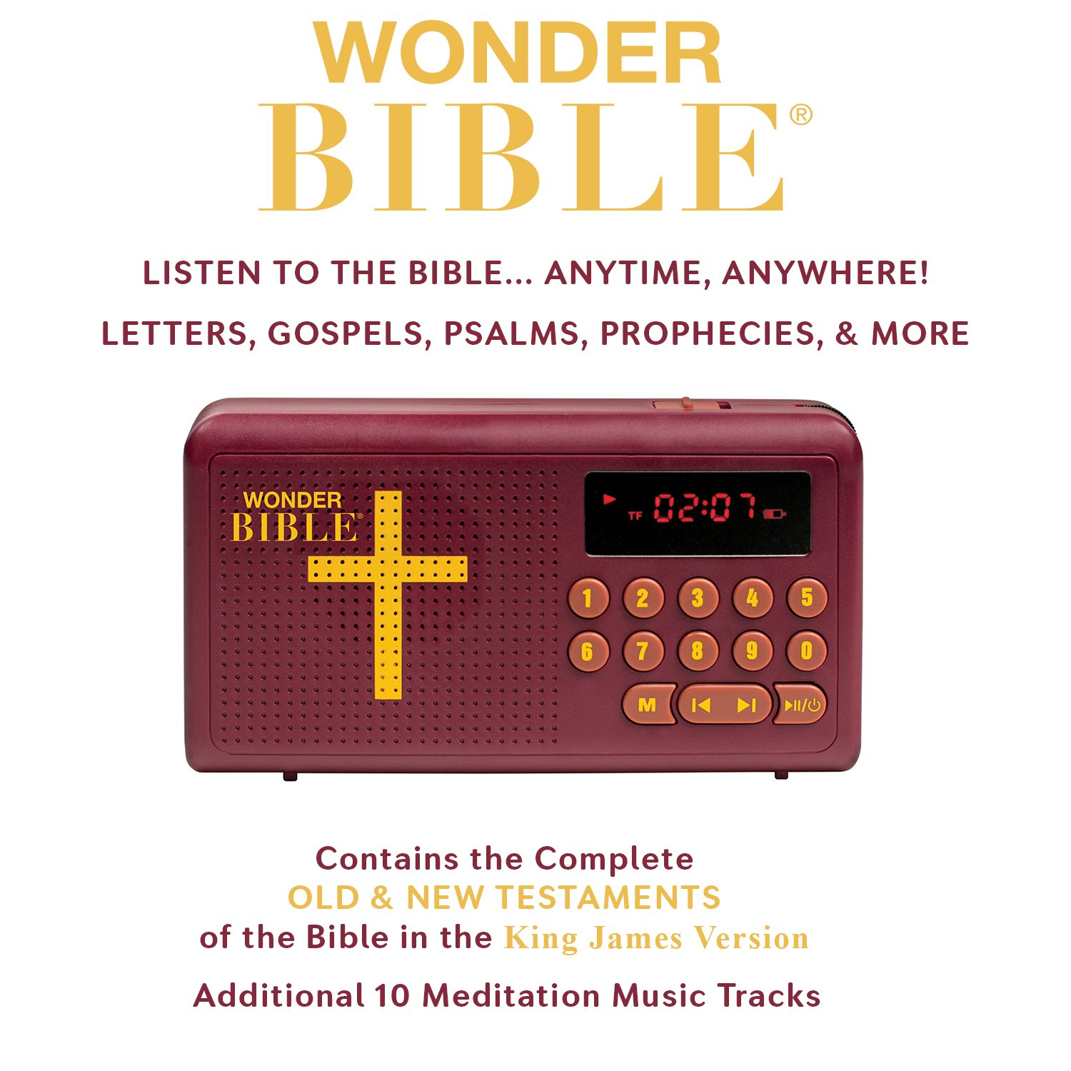 Wonder Bible The Talking King James Audio Player Search Results For Quotindustrial Electronic Repair Sales 8009502349 As Seen On Tv Electronics