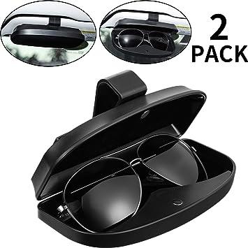 Car Auto Sun Visor Glasses Sunglasses Card Ticket Holder Clip Universal NEW X