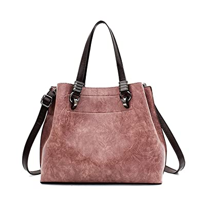 Bikifree Women Leather Handbag Women Crossbody Bag Female Bag Women Vintage Scrub Leather Handbag sac a