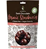 Dr Superfoods Organic Strawberry Dark Chocolate