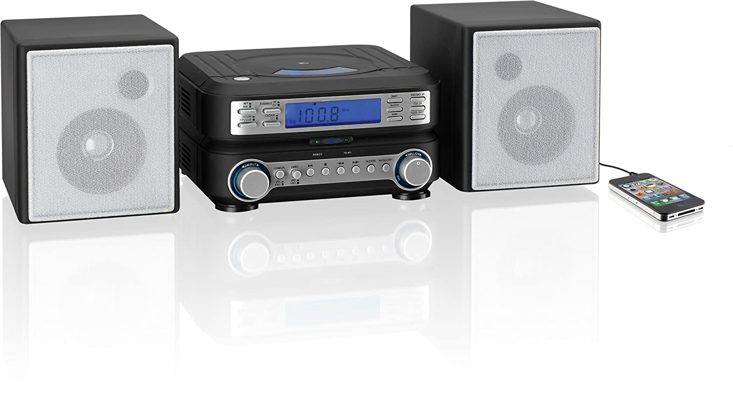 Small Cd Player For Bedroom Amazoncom Gpx Hc221b Compact Cd Player Stereo Home Music System