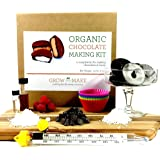 Deluxe Chocolate Making Kit - Make Truffles, Peanut Butter Cups, Peppermint Patties