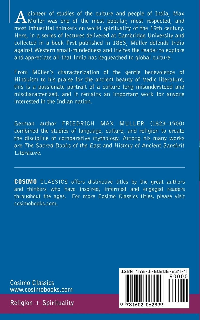 India: What Can It Teach Us? (Cosimo Classics): Friedrich Max Müller ...
