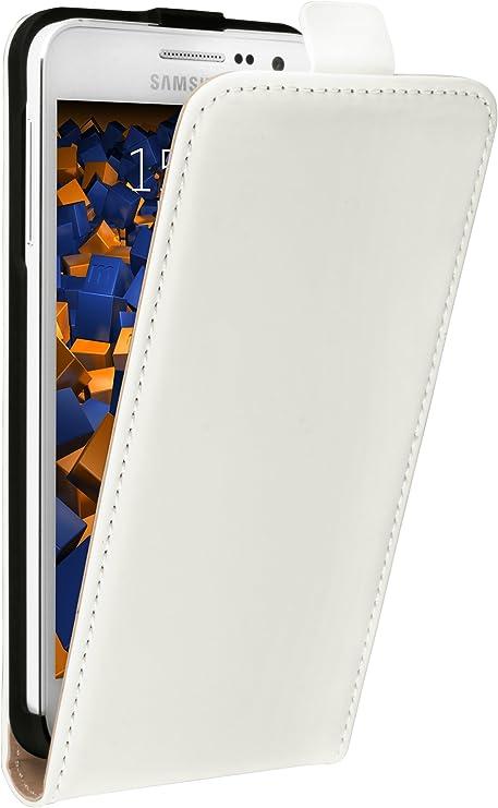 Mumbi Echt Leder Flip Case Kompatibel Mit Samsung Elektronik