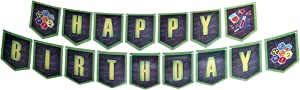 Science Party Birthday Banners, Science Party Supplies, Science Party Decorations, Hanging Room Decorations