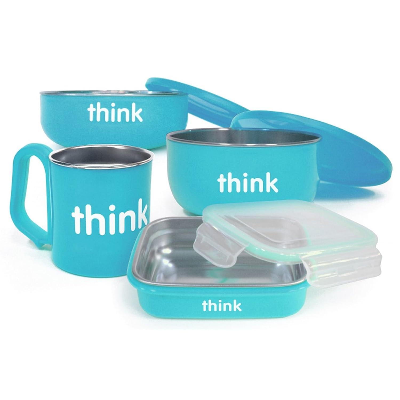 【返品交換不可】 Thinkbaby Feedingセット – BPAフリー Complete – 1セット The B01IFYCQF4 Complete – ライトブルー – 1セット B01IFYCQF4, カイダムラ:8f3d7878 --- a0267596.xsph.ru