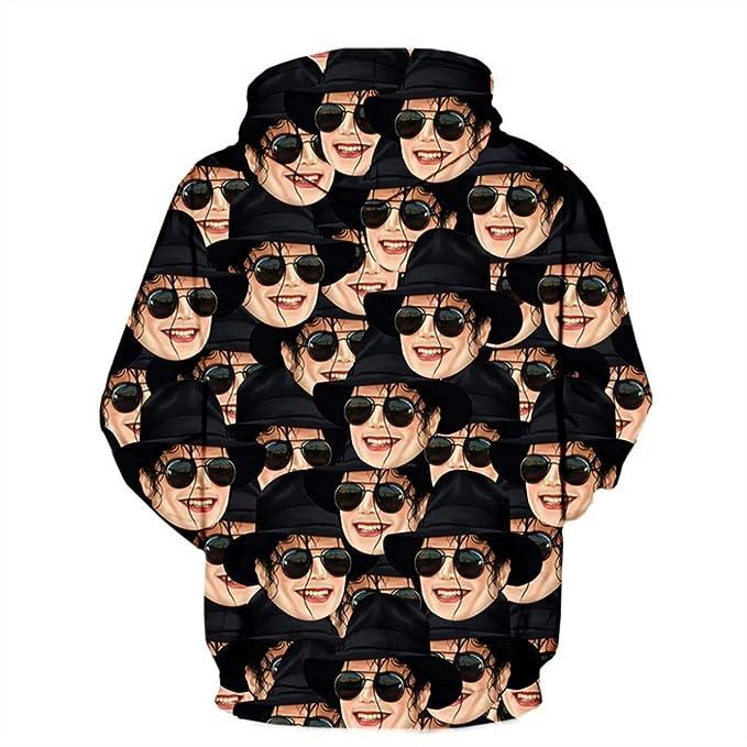 Amazon.com: Mens 3D Hoodies Michael Jackson Sweatshirts Pullovers Hoodie Streetwear: Clothing