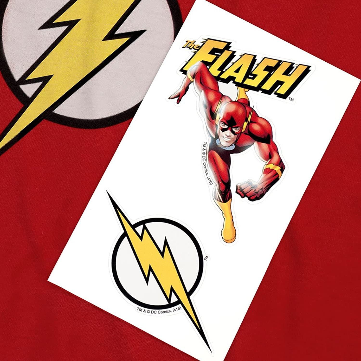 Amazon popfunk youth flash lightning bolt logo t shirt for boys amazon popfunk youth flash lightning bolt logo t shirt for boys exclusive stickers clothing buycottarizona Image collections