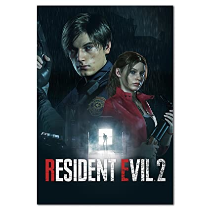 Resident Evil 2 Remake Official Art Poster Prints PS4, PC, Xbox One (11x17)