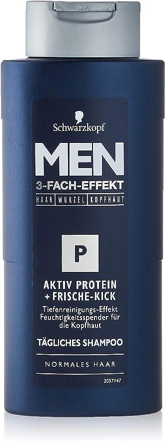 HOMBRES champú Schwarzkopf activated proteína frescura, 250 ml