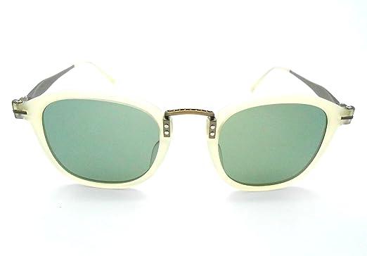 Amazon.com: Matsuda M2015 mate Beige polarizadas anteojos de ...