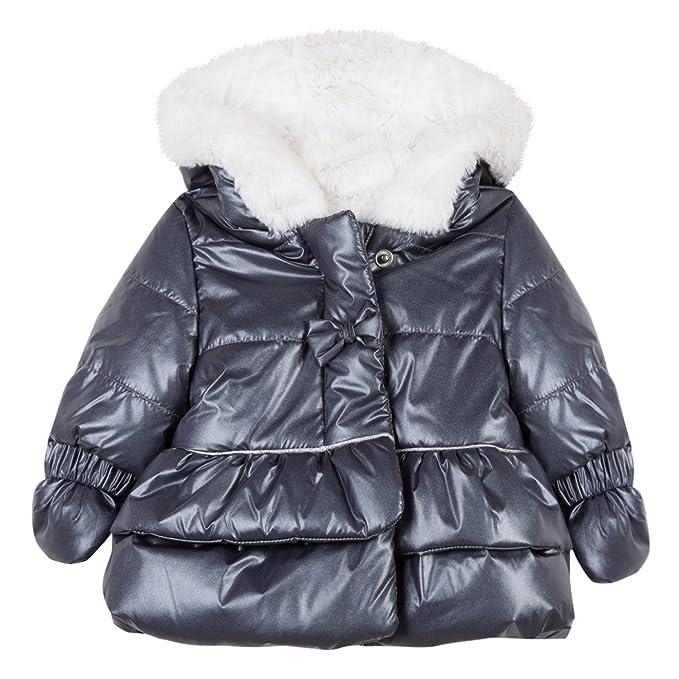 Absorba Boutique Baby Mädchen Vestes Gris Jacke, Grau