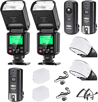 Rechargeable LED Light Set With Kit For Nikon D3S D3X D300 D300S D5000 D5100