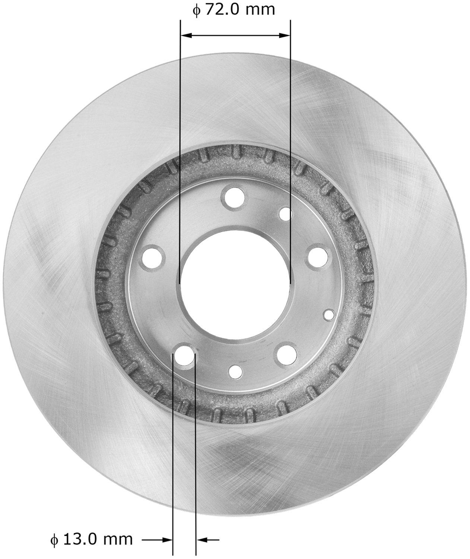 Bendix PRT5897 Brake Rotor