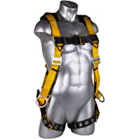 Guardian Fall Protection 11165 M-L Seraph Universal Harness with Leg Tongue Buckle Straps and Side D-Rings