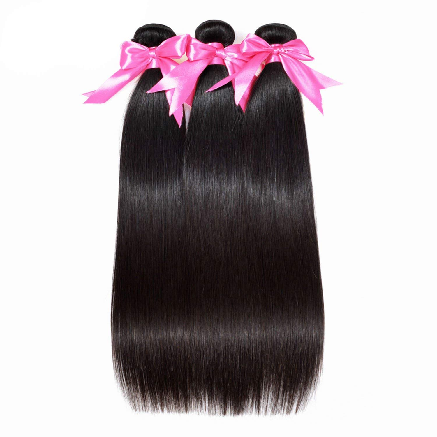 B07SPLPBTN Peony red HAIR Brazilian Straight Hair Extensions 100% Remy Hair Weave Bundles Nature Color 3 Bundles Human Hair Bundles Nature Color,Natural Color,12 12 14 713pAvhPTcL