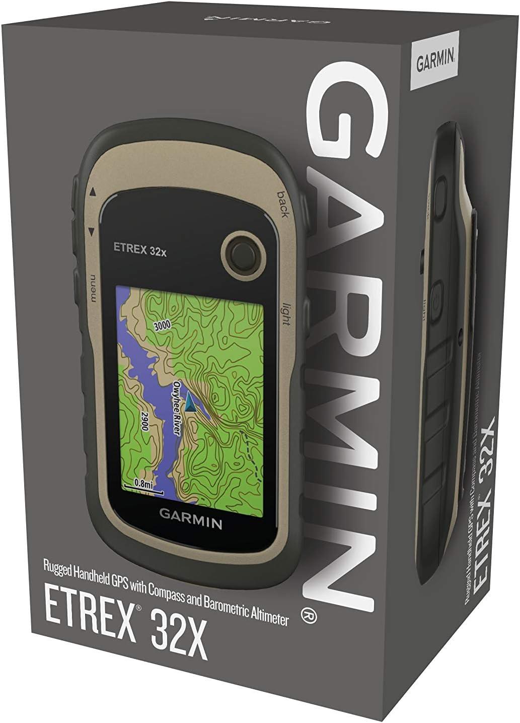 Garmin - eTrex 32x - GPS de randonnée avec cartographie TopoActive Europe