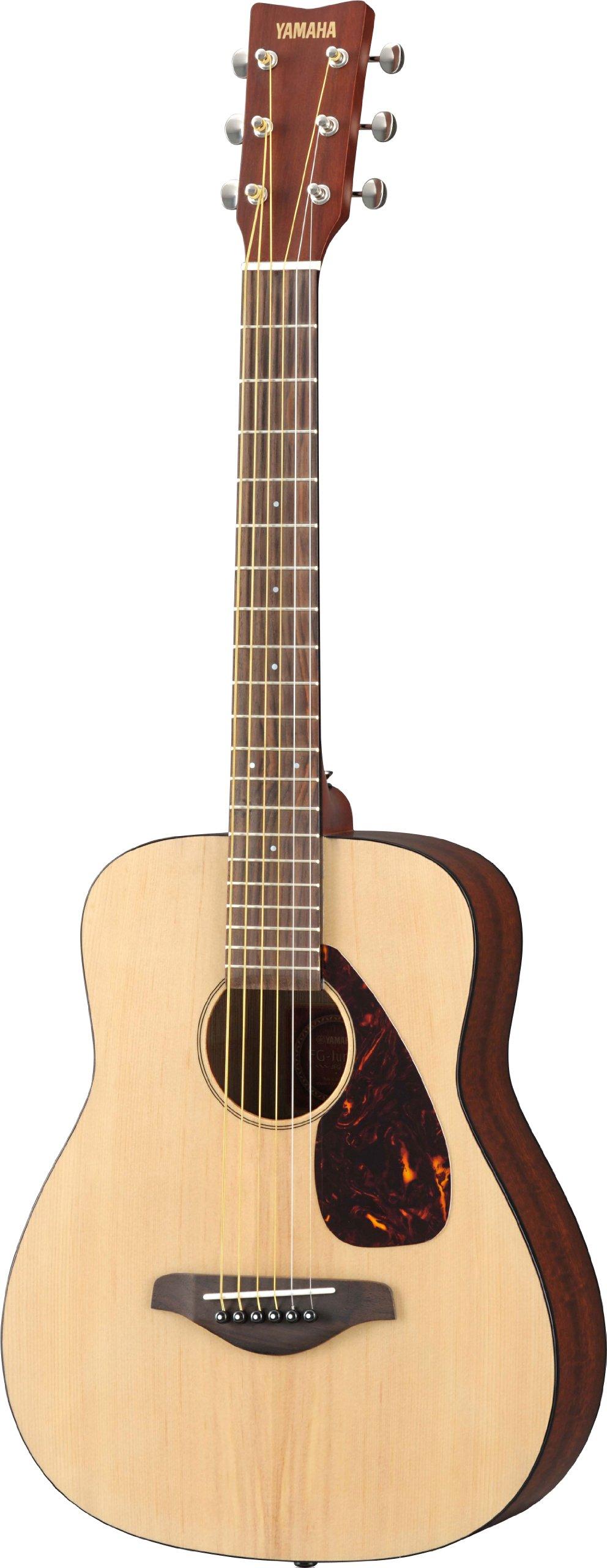 Yamaha JR2 3/4 Size Guitar with Gig Bag, Natural