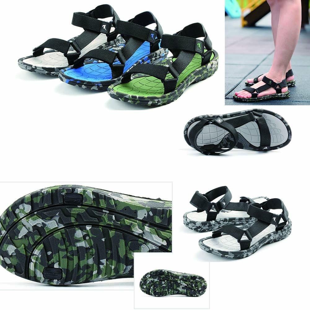 Black Temptation Zapatos Blancos y Negros de la Playa Sandalias del Verano
