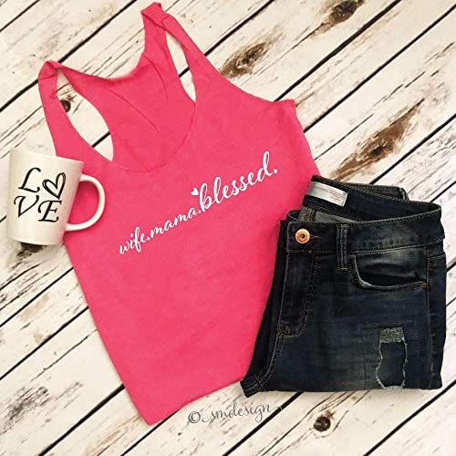 Mama Blessed Shirt Mom Birthday Gift Life Mothers Day