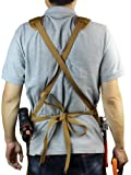 INNO STAGE Tools Apron,Waxed Canvas Work Bib Aprons