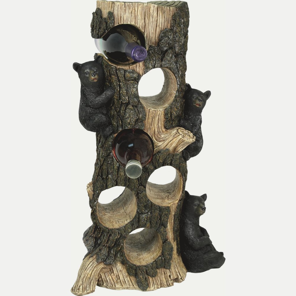 River's Edge Bear 6 Wine Bottle Holder by River's Edge Products (Image #1)