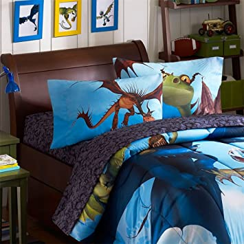 How to train your dragon 4 piece double bed sheet setno duvet how to train your dragon 4 piece double bed sheet setno duvet cover ccuart Image collections