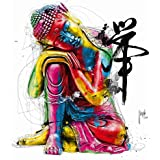 "Art Print / Poster: Patrice Murciano ""Buddha"" - High Quality Picture, Fine Art Poster, 12x12 inch"