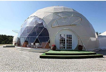 ZYJFP Tienda Al Aire Libre Transparente, Anti-Privacidad De La Bóveda del Aire Semitransparente del Garden Igloo Patio Trasero Que Acampa De La Familia Jardín,5Diameter: Amazon.es: Hogar
