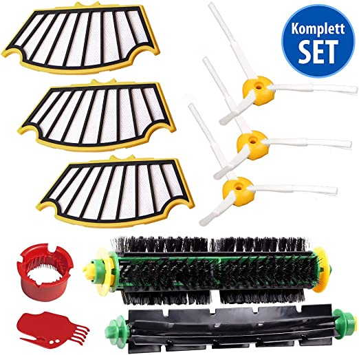 Spare parts for iRobot Roomba 500 series maintenance kit cleaning ...