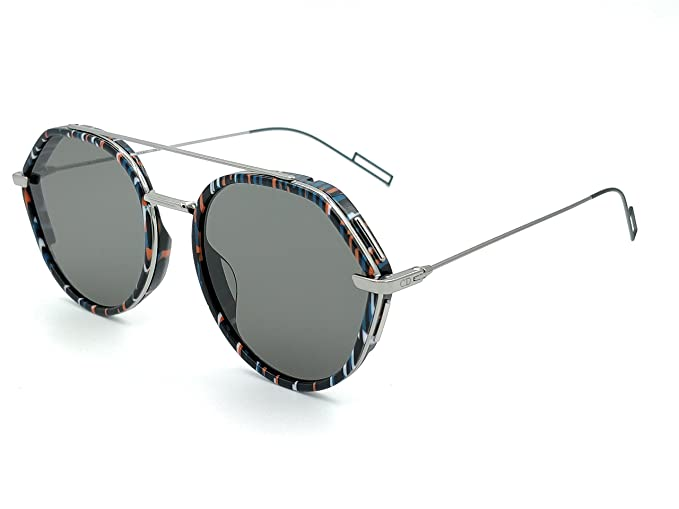 Dior Gafas de Sol 0219S STRIPED BLACK/GREY hombre: Amazon.es ...