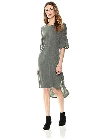 d4eced5e3d Painted Heart Women s Bell-Sleeve Sweater-Dress with Back Twist Detail  X-Small