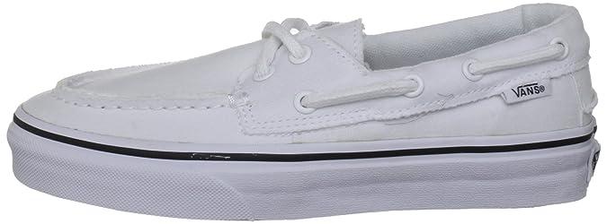 Barco Zapato Blanco Para Hombre Amazon Del Eu Zapatillas 39 Vans dE6qZq