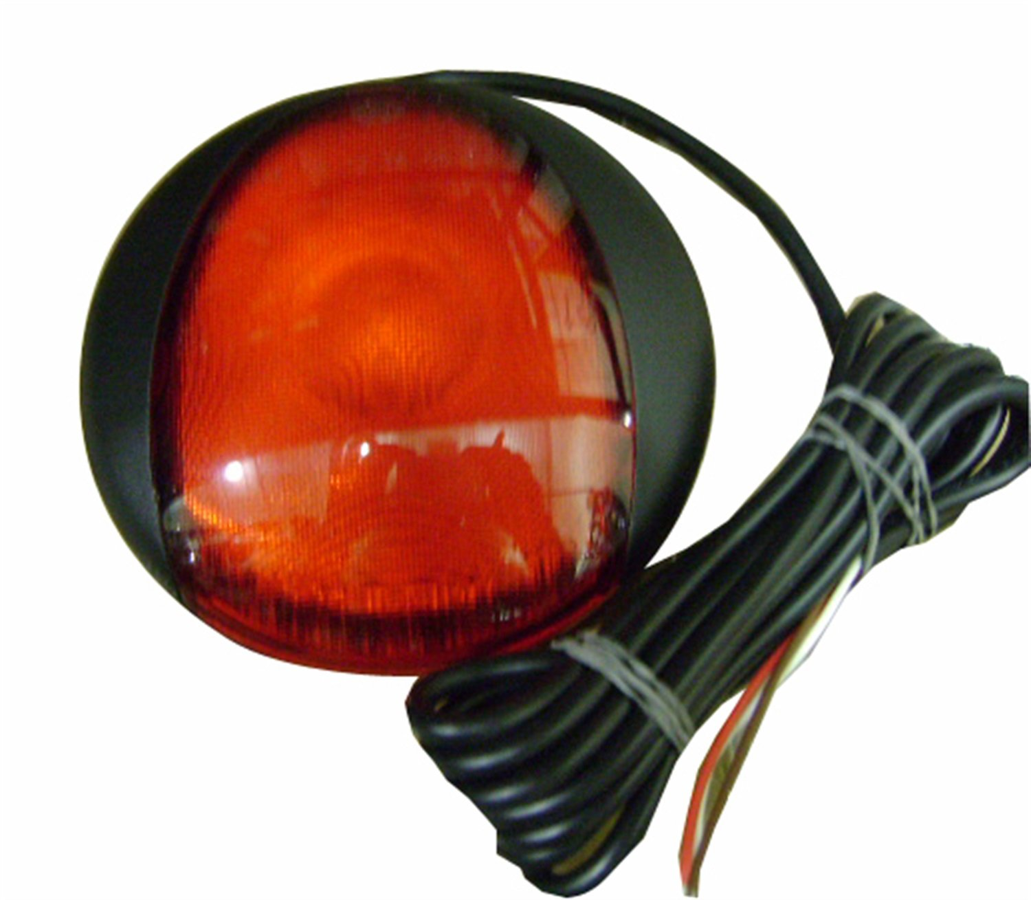 HELLA 959821301 EuroLED Red Stoplamp and Tailamp with Black Bezel