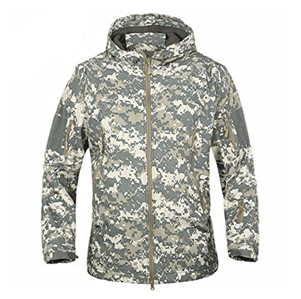 ff893c259bf Army Camouflage Coat Military Jacket Waterproof Windbreaker Raincoat Hunt  Clothes Army Men Outerwear Jackets And Coats