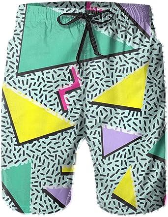 Vintage Swim Trunks 90s Fresh Prince Pacific Scenes XL Vintage XL Board Shorts 90s Swimwear pattern Beach Festival Clothing 1990s Size XL