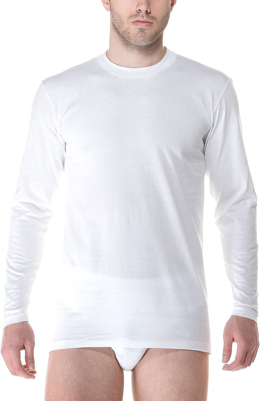 Underwear Fragi Set 3 Pezzi Maglietta Manica Lunga America Intimo Uomo