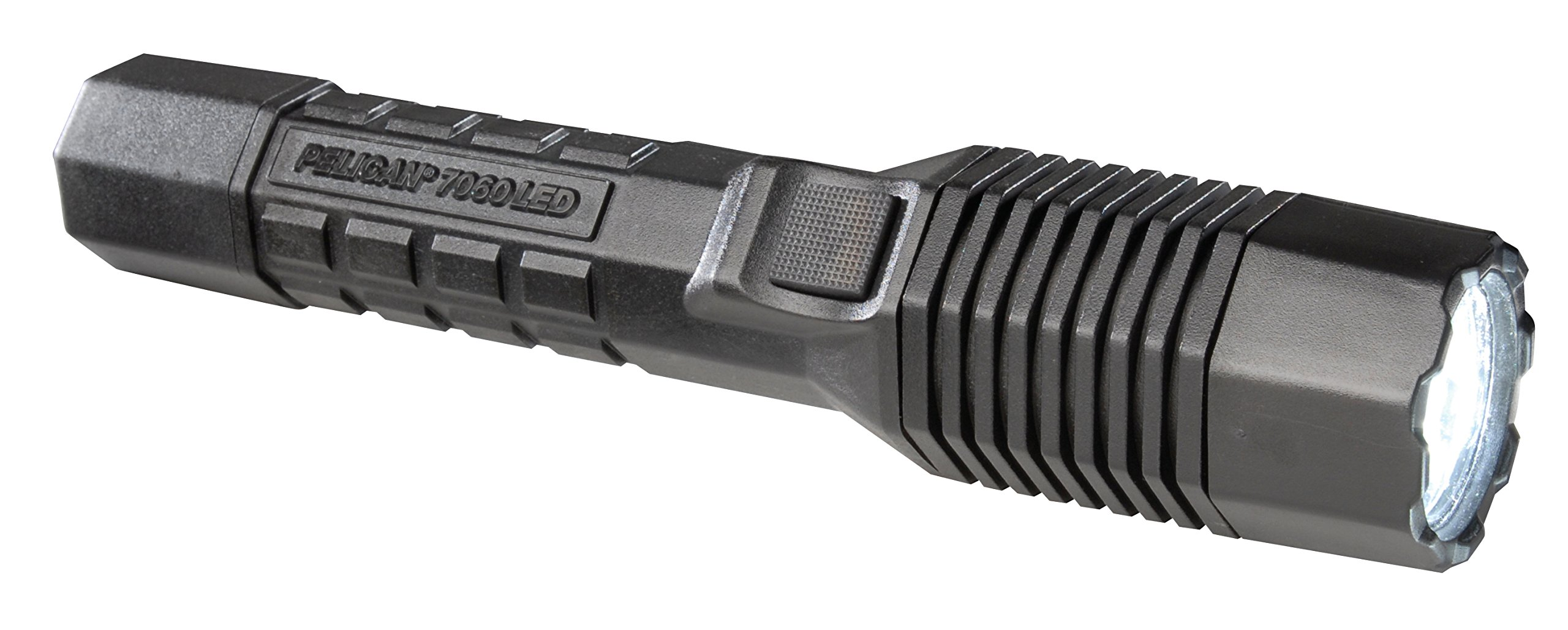Pelican 7060 Rechargeable Tactical Flashlight With Charger (Black)