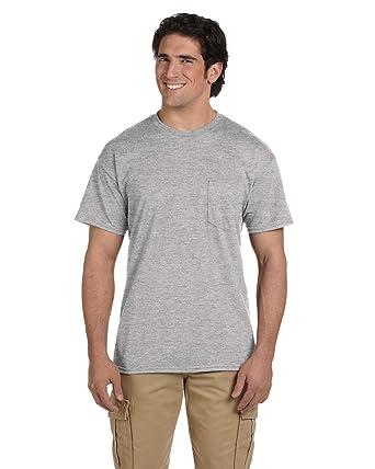 9db846b6 Gildan G830 5.6 oz Ultra Blend 50/50 Pocket T-Shirt - Sport Grey