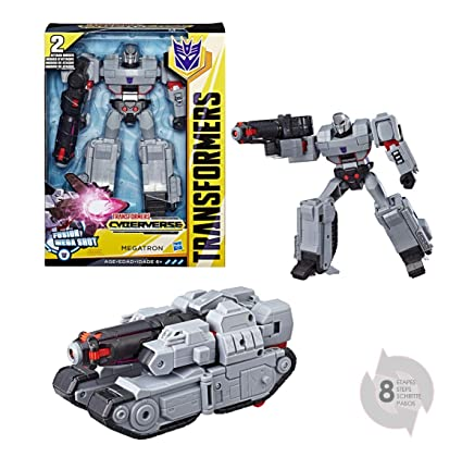 Amazon Com Transformers Toys Megatron Cyberverse Ultimate Class