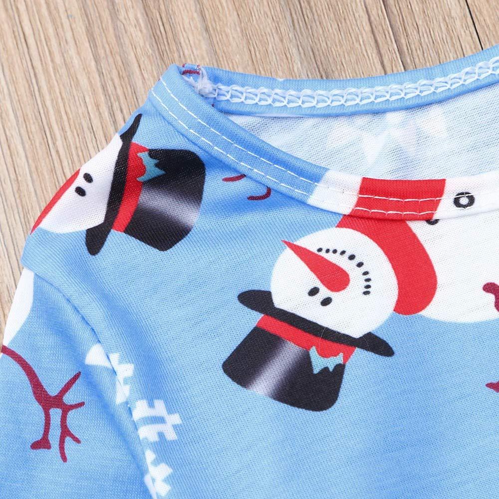 LIKESIDE Christmas Mommy&Me Children Kid Girl Cartoon Print Dress Family Clothes