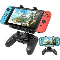 FYOUNG Soporte de Clip Ajustable para Nintendo Swicth y Pro Controller, Soporte Plegable para Videojuegos, Abrazadera para Nintendo Switch/Nintendo Switch Lite