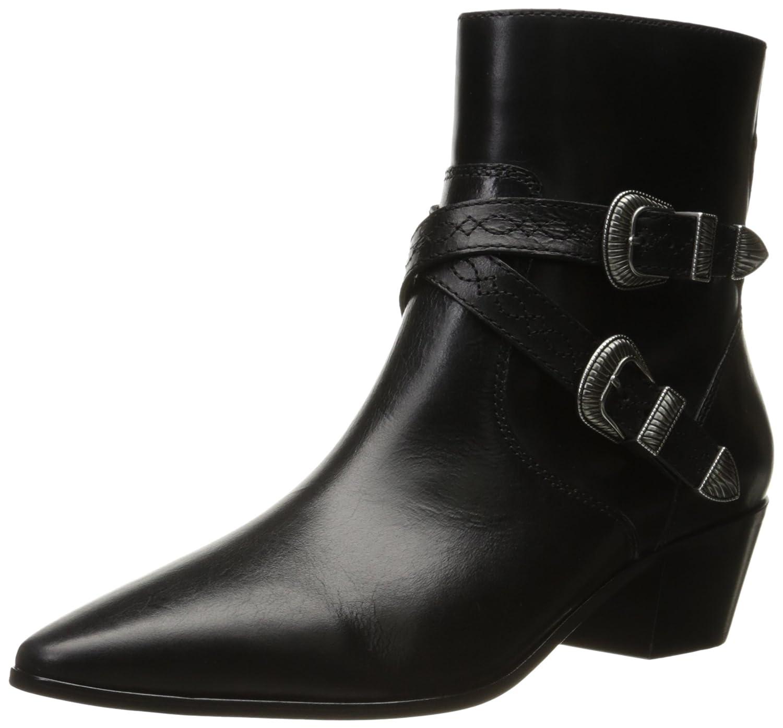 FRYE Women's Ellen Buckle Short Western Boot B01HIZT5VO 6.5 B(M) US|Black