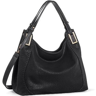 JOYSON Handtasche Damen Umhängetasche Schultertasche Crossbody PU Leder  Hobo Tasche Damen Handtasche für Frauen (L39cm 6f5c50c6ec
